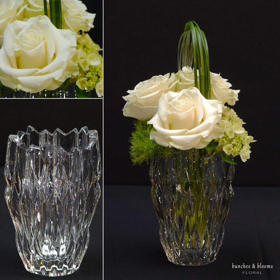 Luxury Blooms and Crystal Vases